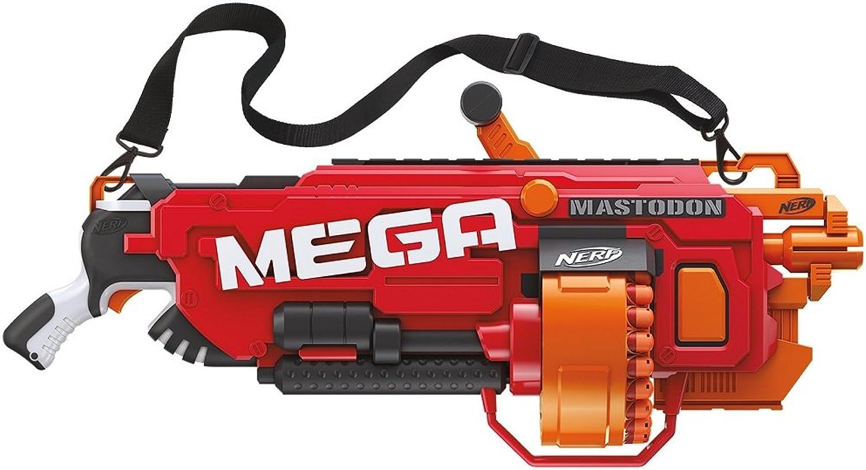 Nerf NStrike Mega Mastodon Mega Blaster and 72 Mega Darts