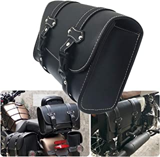 Motorcycle Sissy Bar Bags Saddle Bag Tail Bag Side Storage Tool Pouch Luggage Bags for Honda Yamaha Kawasaki Suzuki Ducati KTM Harley Davidson Sportster