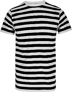 e6aa86fc1fb6d5 Maglietta con motivo a righe, per adulti e bambini