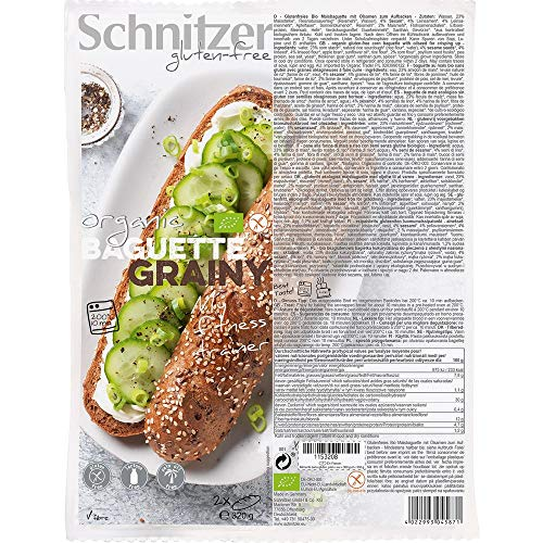 Schnitzer Bio Baguette Grainy (6 x 320 gr)