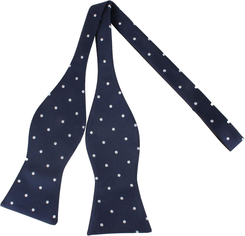 Polka Dot Bow Tie Poka Dot Bowties for Men Spotty Dot Bow Tie Groomsmen Bow Ties for Groom