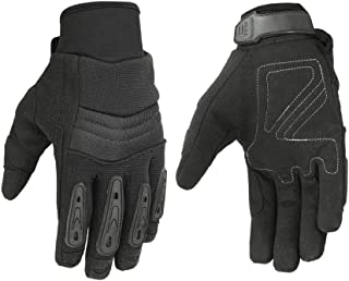 """Men's""""Air Cooled"""" No Sweat Knit Extreme Comfort Riding Gloves for Police and Motorcycles"""