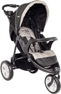 Carrinho de Bebê Lenox Fox com Bandeja Preto