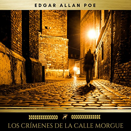 Los Crímenes de la Calle Morgue audiobook cover art