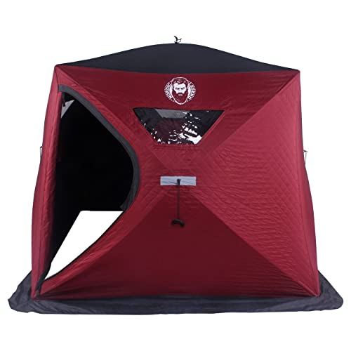 Nordic Legend Wide Bottom 3-4 Man Thermal Ice Shelter