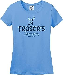 Fraser's Single Malt Scotch Whisky Je Suis Prest Ladies T-Shirt (S-3X)