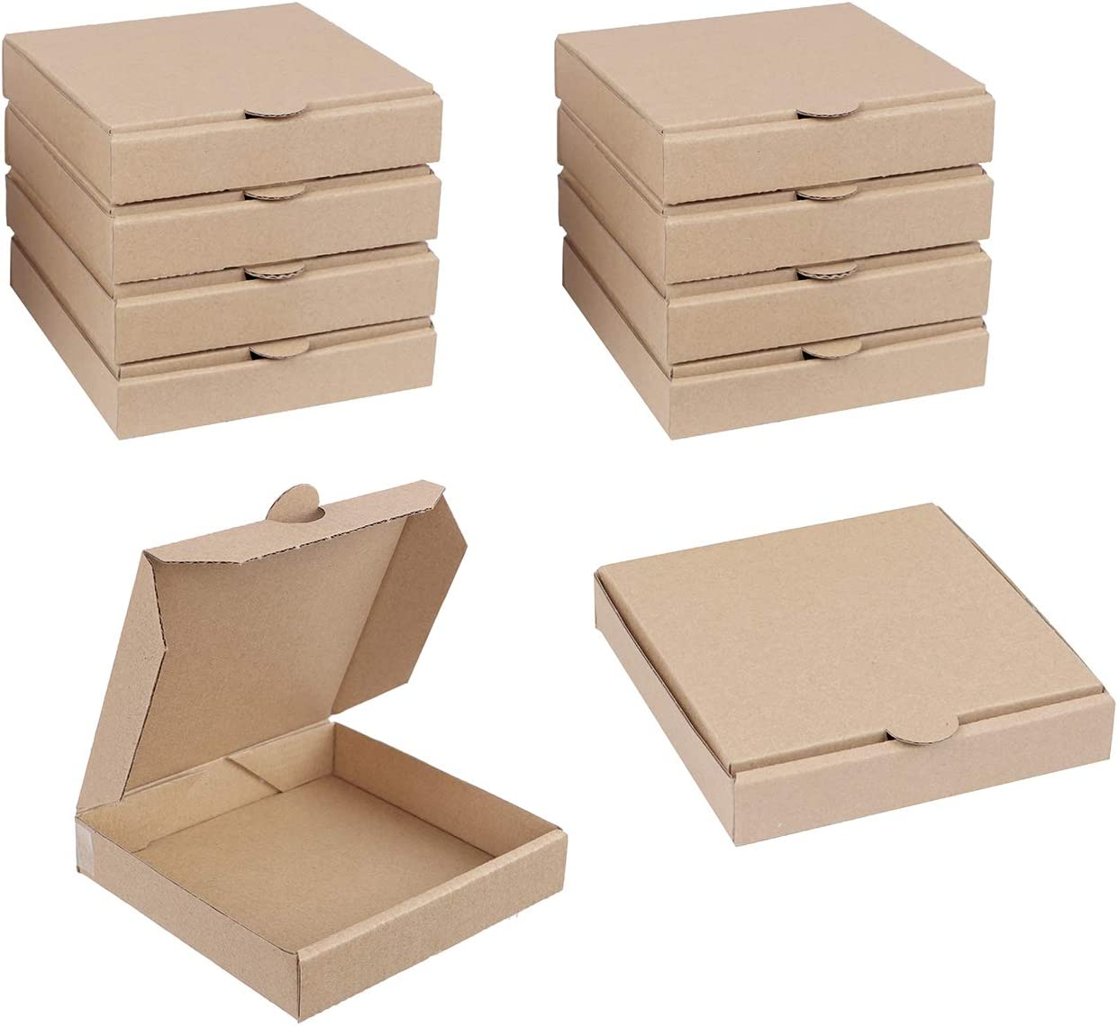 Spec101 Kraft Large special price shopping Mini Pizza Boxes 5 for Inch Favor Cookies Party