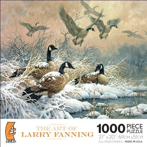 The Art Of Larry Fanning - Winter Retreat by Ceaco