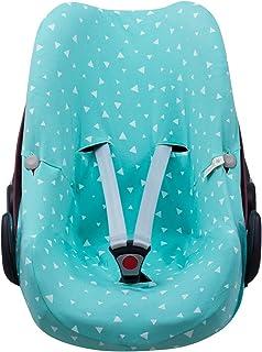 JANABEBE Funda para Bebé Confort Maxi-cosi Pebble Mint Sparkles