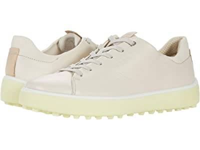 ECCO Golf Golf Tray Hydromax (Limestone/Cow Leather) Women