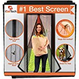 iGotTech Magnetic Screen Door, Full Frame Seal. Covers Doors up to 34 x 82 Inches MAX. (Item Size: 36 x 83)