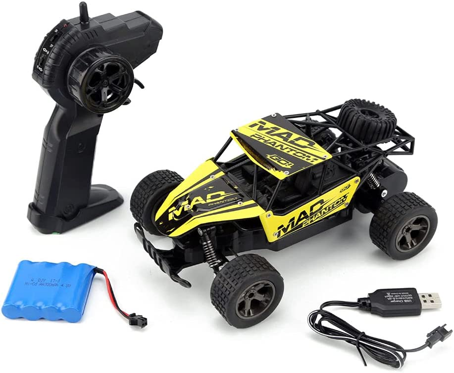 Zpzzy 2.4G Desert Remote Car Very popular 1:18 Control Translated Off-Roa
