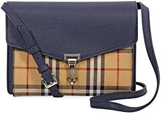 Small Vintage and Check Crossbody Bag- Regency Blue