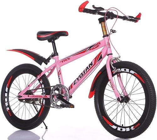 marca en liquidación de venta XHLJ Bicicleta De Color De Una Una Una Sola Velocidad, Bicicleta De Montaña para Niños, Universal Student Youth (Color   A, Tamaño   24 Inch)  tiempo libre