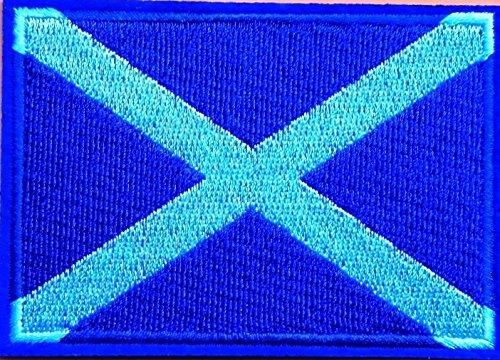 Parche bordado bandera Escocia Choppershop