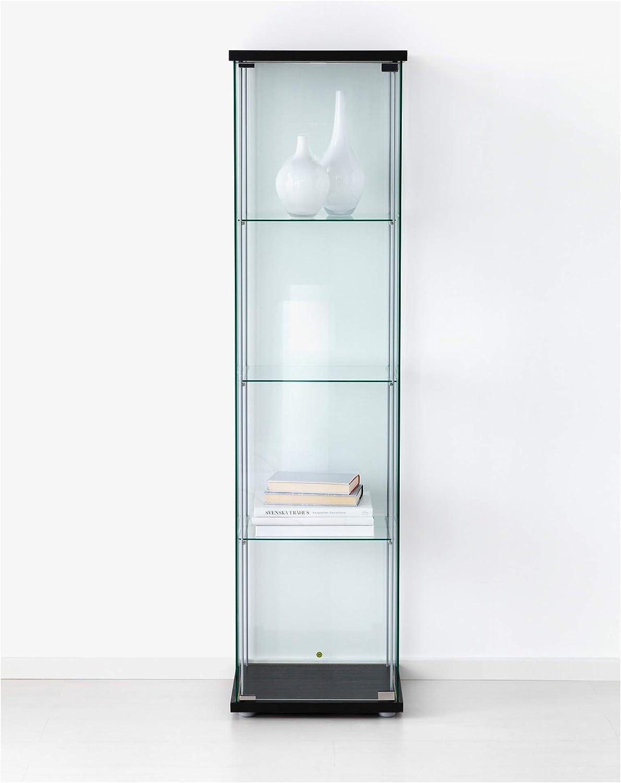 Buy IKEA Glass Door Cabinet, Black Brown Online in Guatemala ...