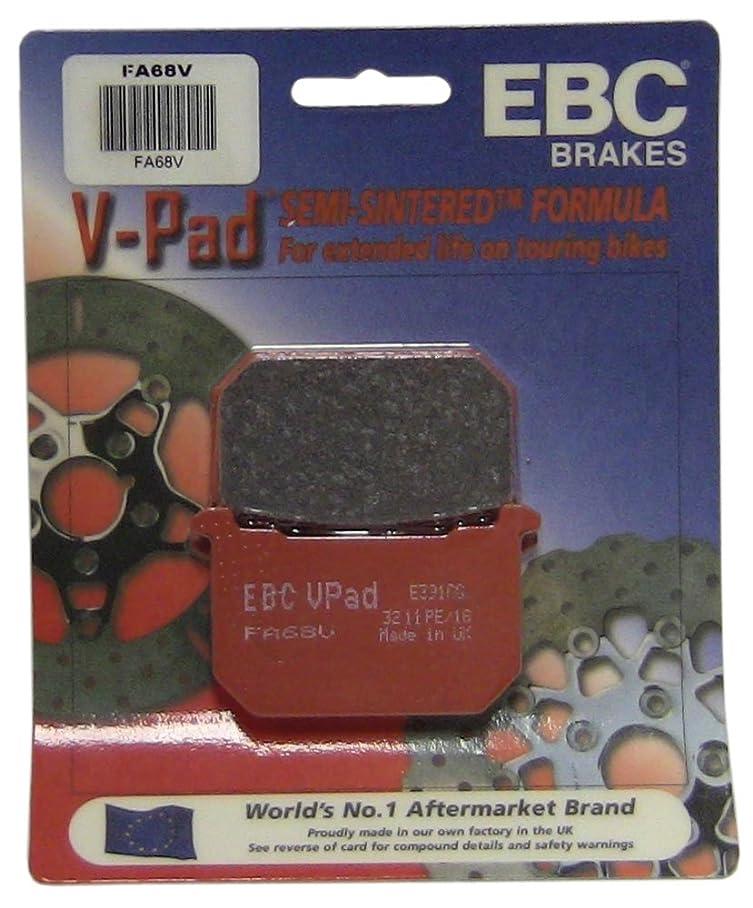 EBC Brakes FA68V Semi Sintered Disc Brake Pad b853431229