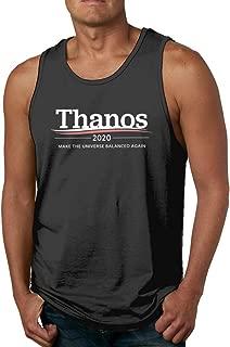 SENTIYWEI Thanos 2020 Make The Universe Balanced Again Men's Tank Top Sleeveless T-Shirt
