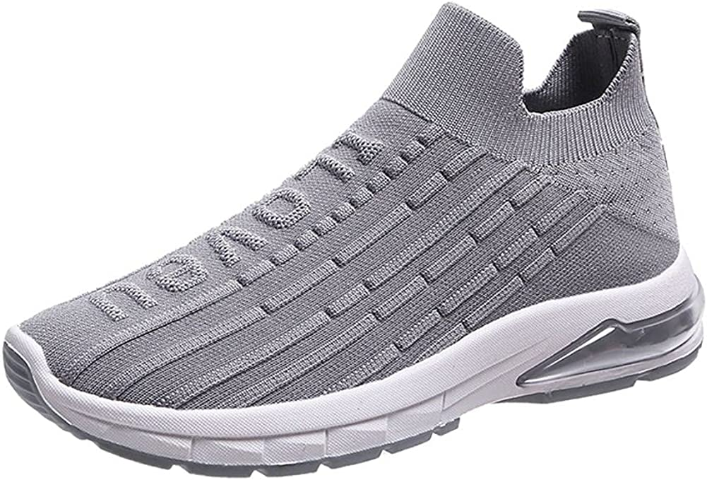 MALAXD Women's Albuquerque Mall Mesh Slip On Air Walking So Cushion Shoes 67% OFF of fixed price Running