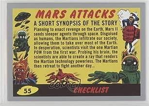Checklist #10/10 (Trading Card) 2017 Topps Mars Attacks: The Revenge - [Base] - Silver #55