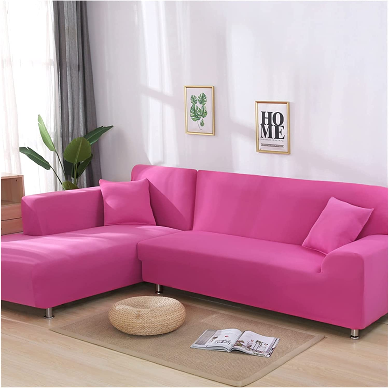 High quality ZHBO Solid Color Elastic slipcovers To Cover Sofa Couch Free shipping on posting reviews Stretch