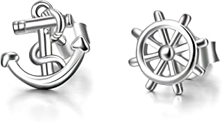 Best anchor stud earrings Reviews