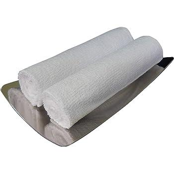 おしぼり (ハンドタオル) 業務用 おしぼりタオル 100匁 白 長方形 1枚