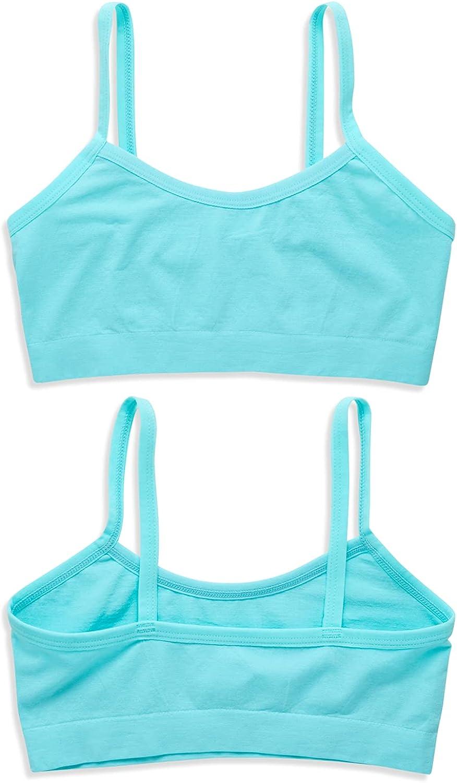 Only Girls by Rene ROFE Training Bra Set - 6 Piece Seamless Sports Bralette Set (Big Girl)