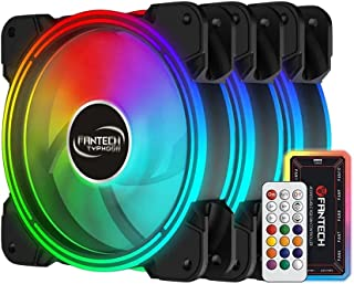 FANTECH FB-302 TYPHOON ARGB FAN Kit 3in1 Dual Side Illuminated Addressable RGB PC FAN  with remote control AND controller...
