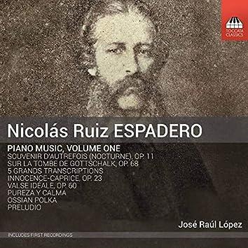 Espadero: Piano Music, Vol. 1