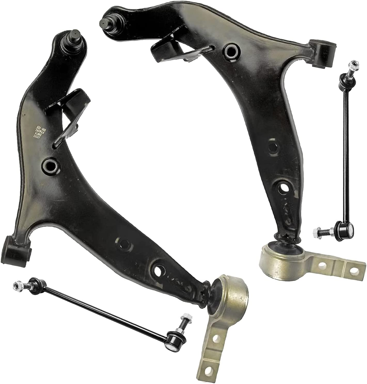 Detroit Axle - Front Lower Control Arms Ranking TOP19 Sway Bar w Joints Department store + Ball