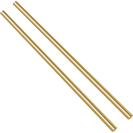 """1//2/"""" Brass Round Bar Rod CZ121 Various Length Options Inch Imperial /"""""""