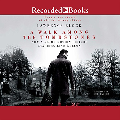 A Walk Among the Tombstones audiobook cover art