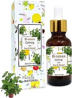 B-URBAN Catnip Oil 100% Natural Pure Undiluted Uncut Essential Oil 30ml