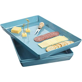 Acrylic Display Food Tray set of 5