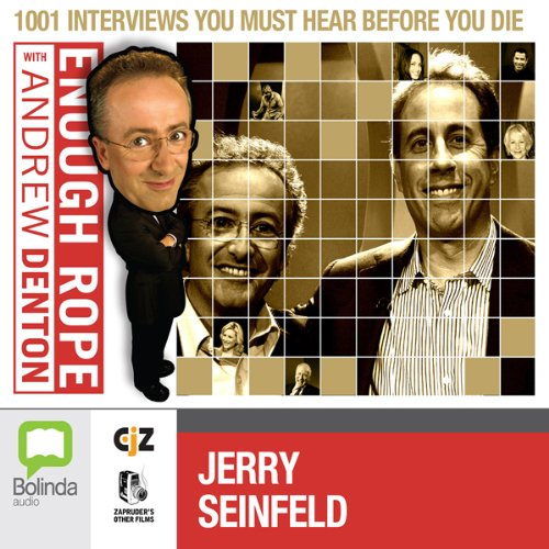 Enough Rope with Andrew Denton: Jerry Seinfeld audiobook cover art