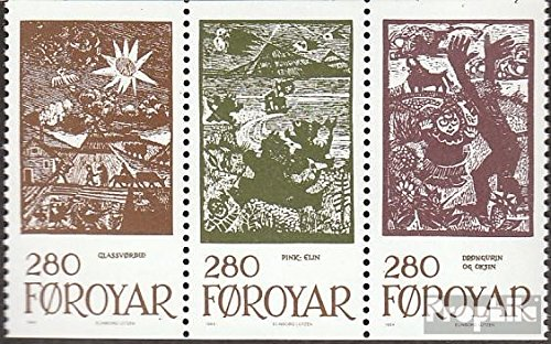 Prophila Collection Dänemark - Färöer W12 (kompl.Ausg.) 1984 Märchenillustrationen (Briefmarken für Sammler) Kultur