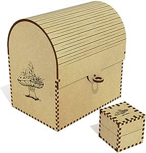 Azeeda  Dwarf Mushroom  Treasure Chest Jewellery Box  TC00041624