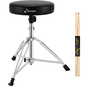 GP Percussion DT82 Double Braced Drummers Throne