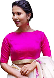 Best pink blouse indian Reviews