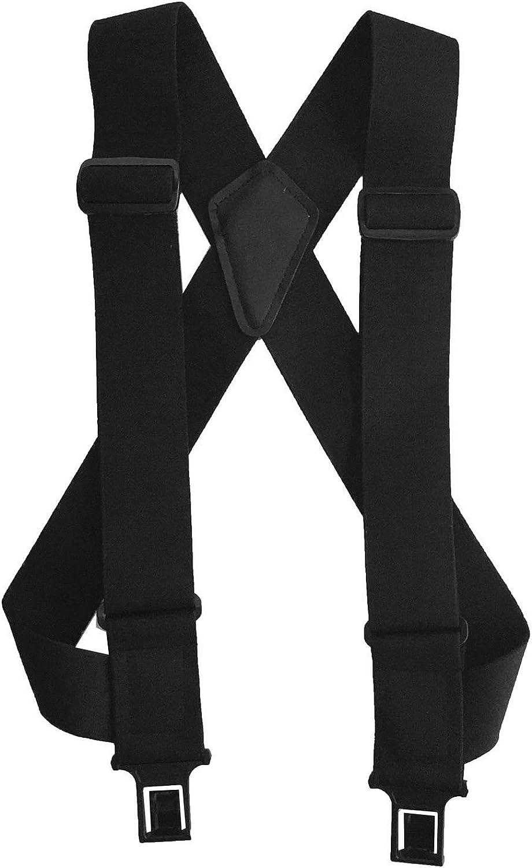 Men's Elastic uBEE Ruf-N-Tuf Hook End Trucker Suspenders, USA Made