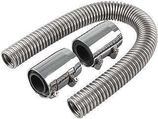 SEN 24 Manguera de radiador Superior/Inferior Flexible de Acero Inoxidable y autopartes de 24 Pulgadas
