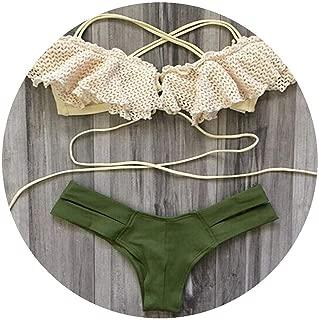 Bahepkl Bikini Push Up Swimwear Women Bikinis Mujer Trikini Maios Biquini