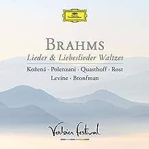Brahms: Lieder & Liebeslieder Waltzes (Live)