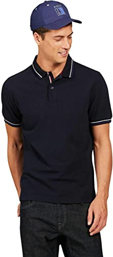 Aigle - Polo Manches Courtes - Bartwing - Homme - L - Bleu Marine