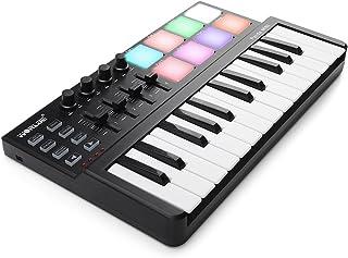 Worlde Panda MINI Portable 25 Keys USB Keyboard MIDI Controller with Colorful Drum Pad