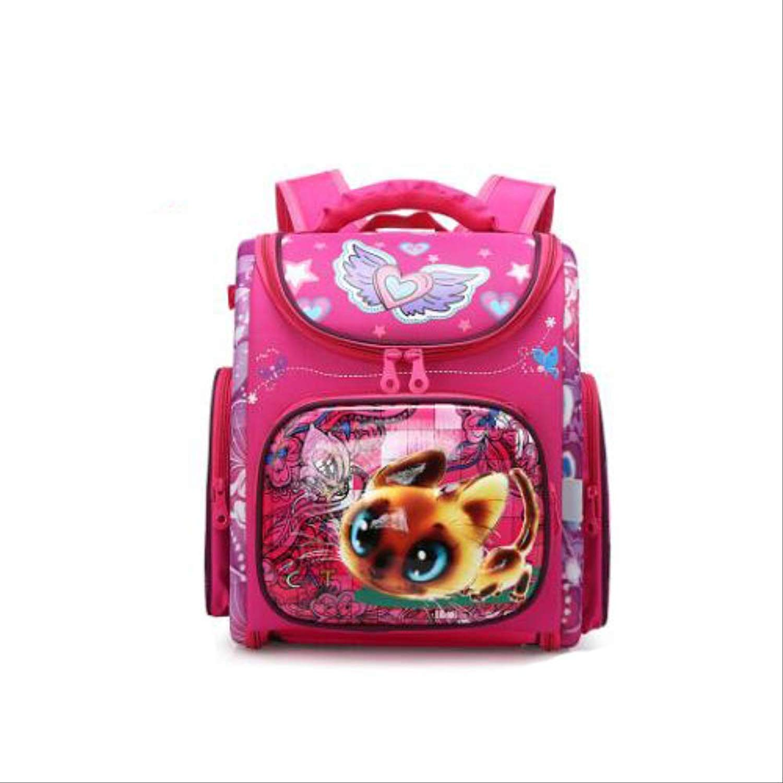 QAZZ zaino autotoon School borsa Girl Boy Gift auto School borsa  ld Orthopedic School Backpack Durable Dog