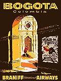 WallBuddy Kolumbien Poster Columbia Poster Bogota Poster