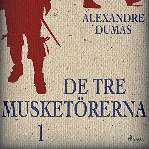 De tre musketörerna 1 audiobook cover art
