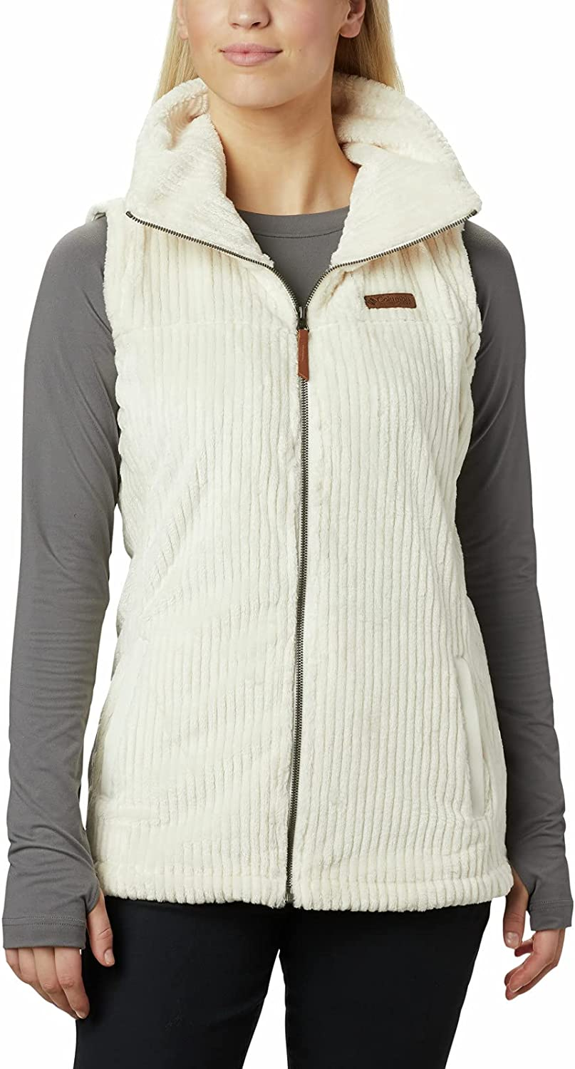 Columbia Women's Fire Limited time for free shipping Sherpa Vest Inventory cleanup selling sale Side